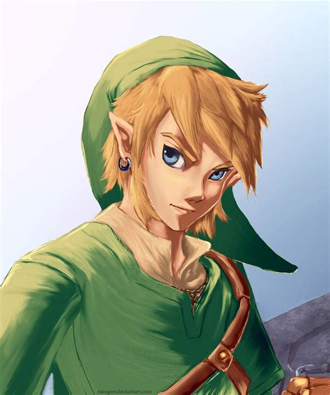 Link The Legend Of Zelda Fan Art Zelda Pinterest