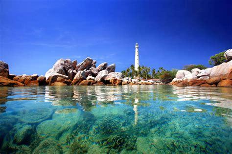 bangka belitung indonesian landmarks