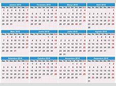 Calendario 2018 2019 2018 Calendar Printable with