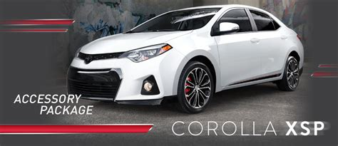 Toyota Corolla Accessories by Toyota Corolla Xsp Accessory Package Mobile Al Serving