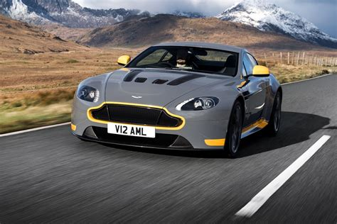 Watch The 2017 Aston Martin V12 Vantage S Stretch Its Legs