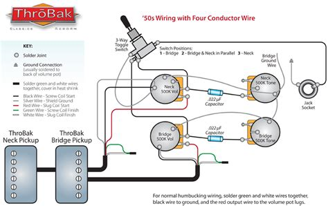 throbak 50 s 4 conductor wiring throbak