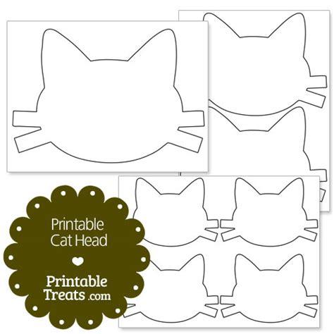 Cat Template Printable Cat Printable Treats
