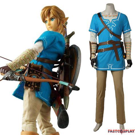The Legend Of Zelda Breath Of The Wild Link Cosplay