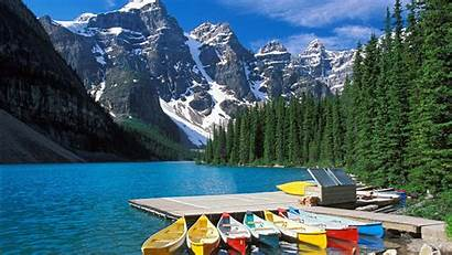 Canada Backgrounds Wallpapers Background Banff Canadian Lake