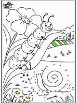 Coloring Pages Dot Caterpillar Dots Connect Printable Colouring Bible Number Numbers Funnycoloring Comic Characters Butterfly Sheets Site Chenille Printables Activity sketch template