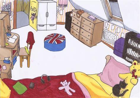 ma chambre a moi ma chambre dessinée par moi pour un devoir d 39 anglais