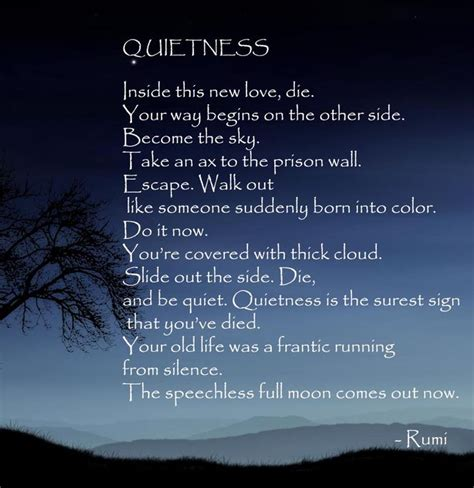 Rumi Poetry by Poems By Rumi Quotes Quotesgram