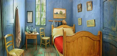 la chambre vincent gogh airbnb reproduit la chambre à coucher de vincent gogh