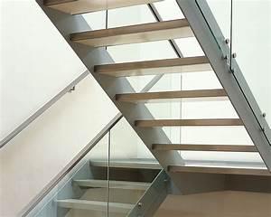 Stahltreppe Mit Holzstufen : treppe und gel nder glas stahlkonstruktion ~ Orissabook.com Haus und Dekorationen