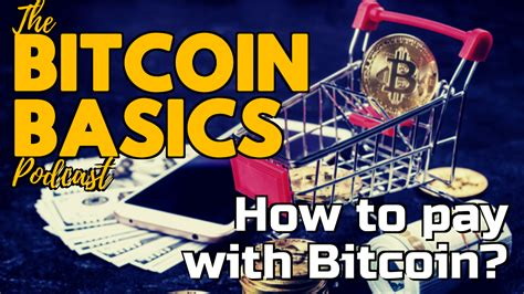Above all, if investing in general, and bitcoin investments specifically, interests. #26 How to pay with Bitcoin? | Bitcoin Basics (76) : CoinCompass