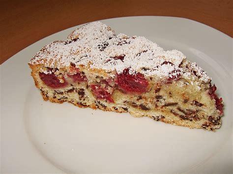 Kuchen Mit Kastenform Und Kirschen Versunkener Kirsch Schoko Kuchen Rezept Mit Bild