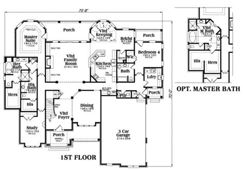 luxury plan  square feet  bedrooms  bathrooms pinehurst