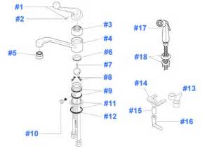 delta kitchen faucet parts repair parts for delta kitchen faucets