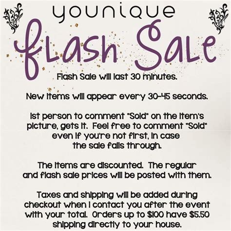 younique flash sale rules feel free to use younique pinterest younique
