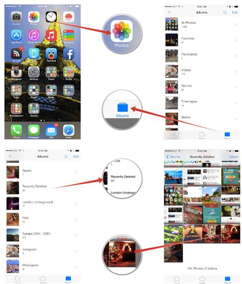 how to get deleted photos back iphone ios help i accidentally deleted a photo my iphone