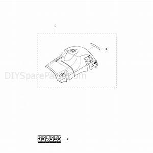 Husqvarna 455 Rancher Chainsaw  2012  Parts Diagram  Cylinder Cover