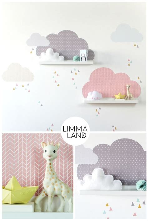 Ikea Mosslanda Kinderzimmer by Wolken Kinderzimmer Gestalten Mit Wandtattoos Passend F 252 R