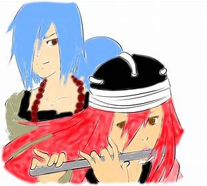 Sakon and Tayuya by spottedshadow12 on DeviantArt