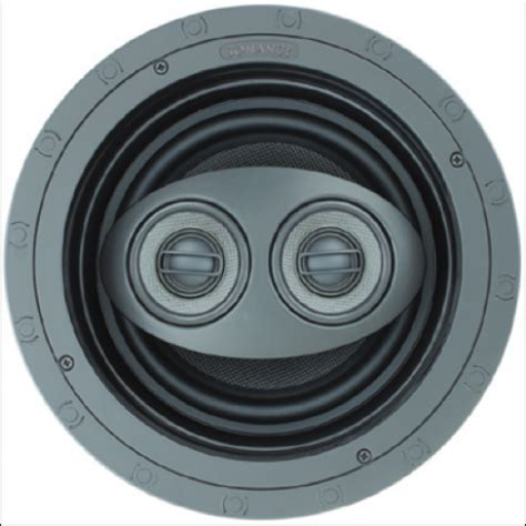 sonance in ceiling speakers sonance visual performance vp86r sst surr in ceiling