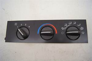 03 Chevy Kodiak Heat Control Panel  Ac No
