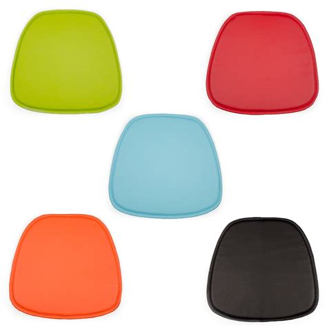 eames seat pad cushions for daw dar rar style chairs