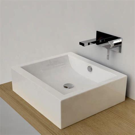 lavabo rectangulaire salle de bain vasque 224 poser rectangulaire 50x45 cm c 233 ramique