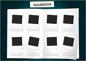 5 school yearbook templates free raiew templatesz234 With yearbook page template free
