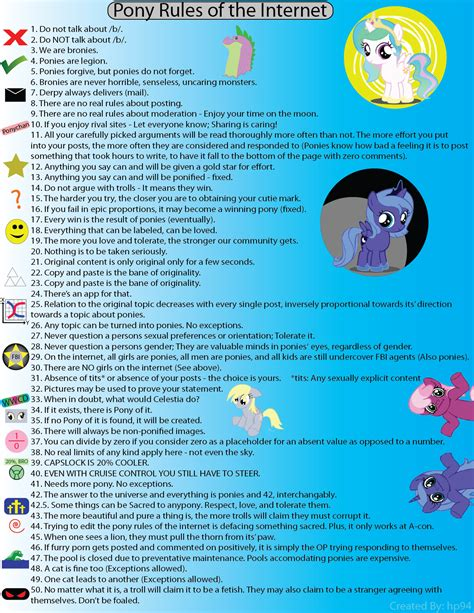 Know Your Meme Rules Of The Internet - image 207330 rules of the internet know your meme