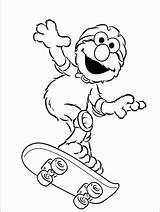 Elmo Coloring Pages Activity Face Children Printable Skateboard Printables Childrens Getcolorings sketch template