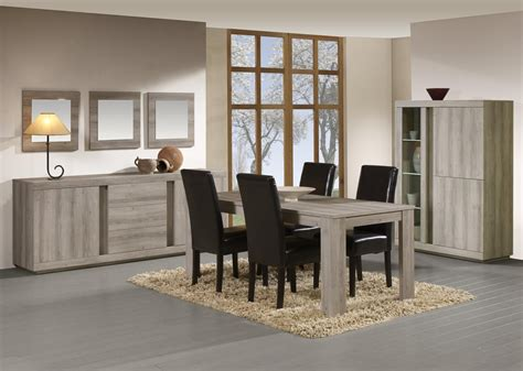 cuisine complete solde salle à manger complète contemporaine coloris chêne mara