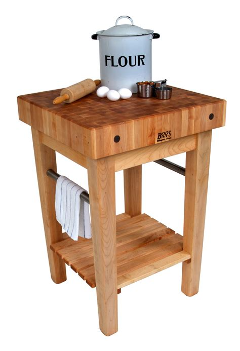 kitchen island with butcher block boos pro prep butcher block prep station 8241