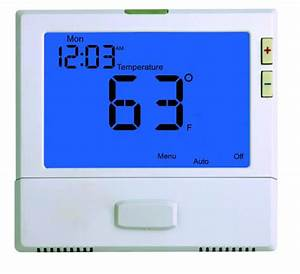2 Heat 2 Cool Wired Room Thermostat Heating And Cooling