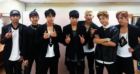 [picture] Bts At Kbs Music Bank [140822]