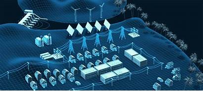 Energy Innovation Natural Grid Future Resources Animation