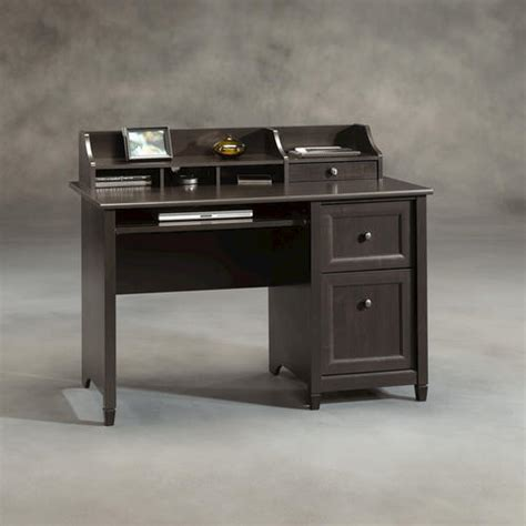menards sauder computer desk sauder edge water estate black computer desk at menards 174