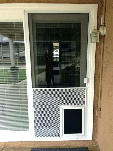 screen door with doggie door built in lowes door lowes sliding screen door lowes medium size