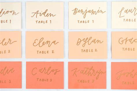 4 diy place card ideas for summer weddings cards