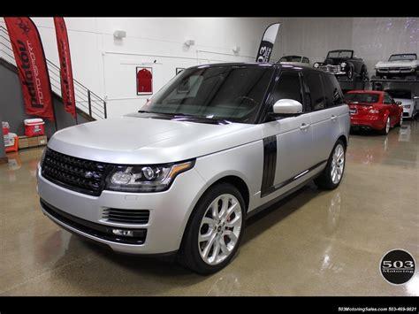 2014 Land Rover Range Rover Supercharged Ebony Edition