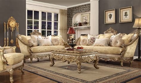 Formal Traditional Classic Living Room Ideas by Hd 2626 Homey Design Upholstery Living Room Set