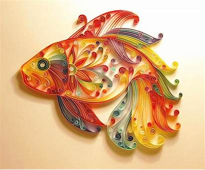 Quilling Fish Designs Paper Patterns Quill Quiling