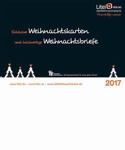 Weihnachtskarten Kataloge Kostenlos Bestellen Von Litei Verlag