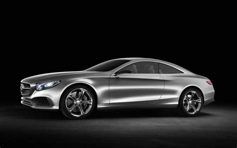mercedes benz  class coupe concept review pictures