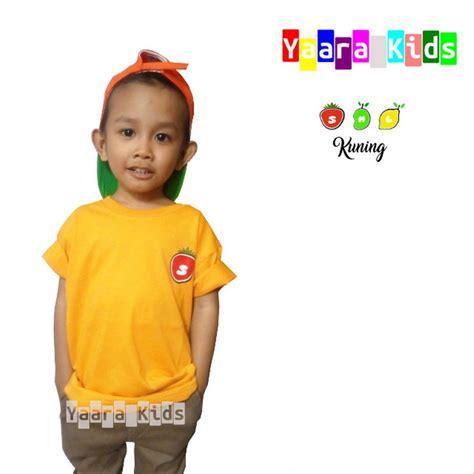 jual baju anak laki laki yaarakids kuning  lapak