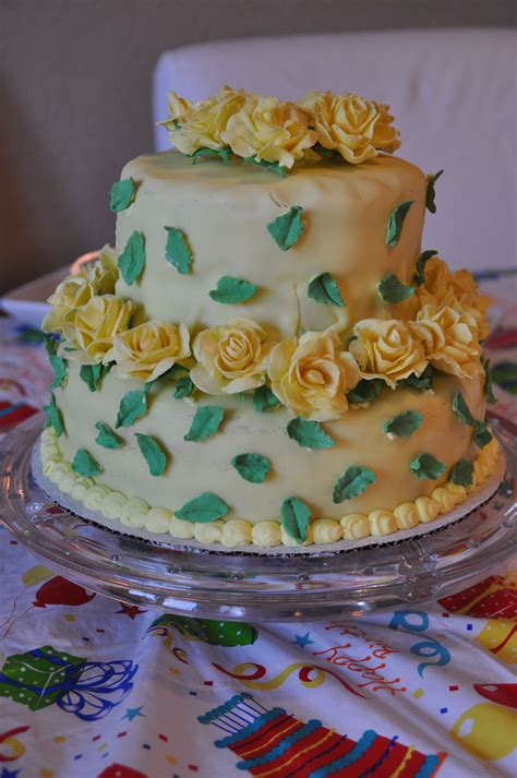 We can make it easy to bring exclusive ceremony they'll always remember. This was a cake I made for my mom's 60th birthday. It had yellow roses on it, which she loves ...