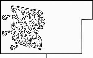 Buick Rainier Engine Oil Pump  Engine Timing Cover  Front