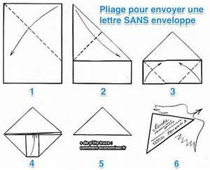 Comment Fabriquer Une Enveloppe : l 39 astuce pour envoyer une lettre sans enveloppe ~ Melissatoandfro.com Idées de Décoration