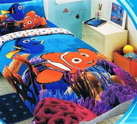 disney finding nemo nemo dory single twin bed quilt