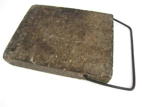 Soapstone Bed Warmer by Antique Primative 9x7 Quot Soapstone Slab Block Bed Foot
