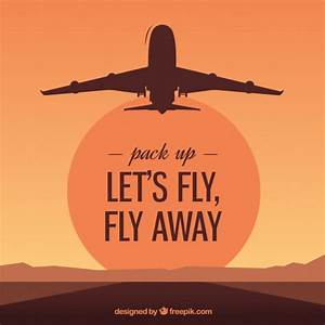 Let's fly, fly away   free vectors   UI Download